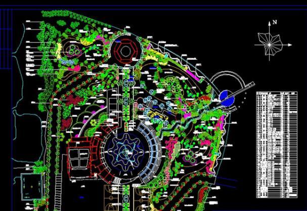 广场平面设计图